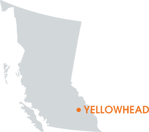 Yellowhead Project Map