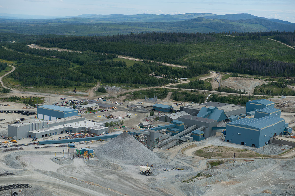 Taseko`s Gibraltar Mine is the second largest open pit copper mine in Canada, employing approximately 650 workers in the Cariboo region