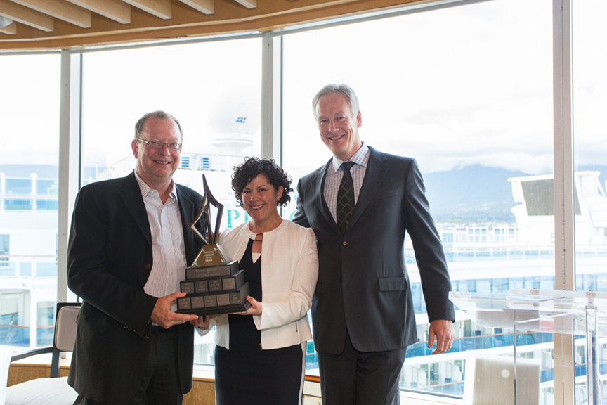 John McManus - MABC presents the Mining Person of the Year Award to publicly recognize an outstanding individual who has shown leadership in advancing and promoting the mining industry in British Columbia.