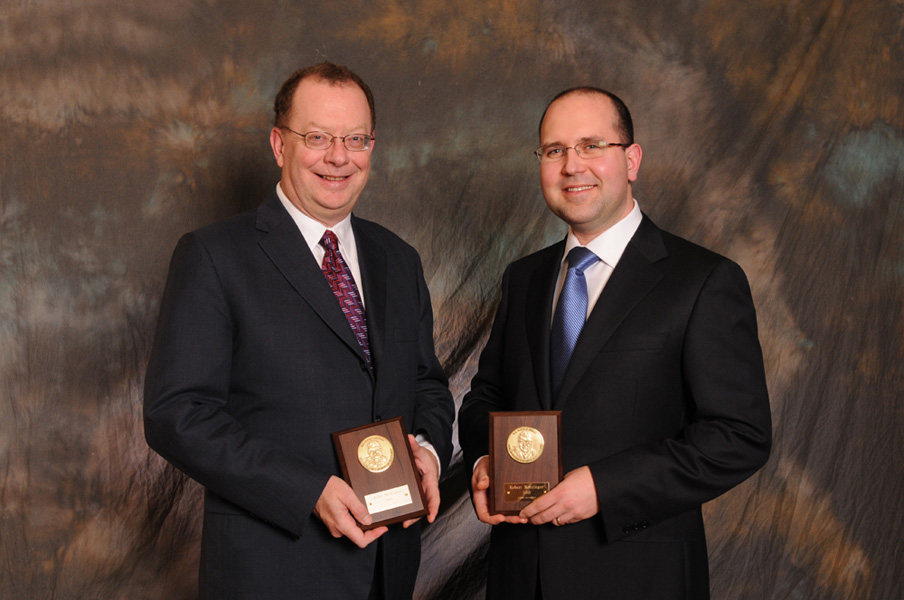 John McManus  and Robert Rotzinger - Excellence in mine development